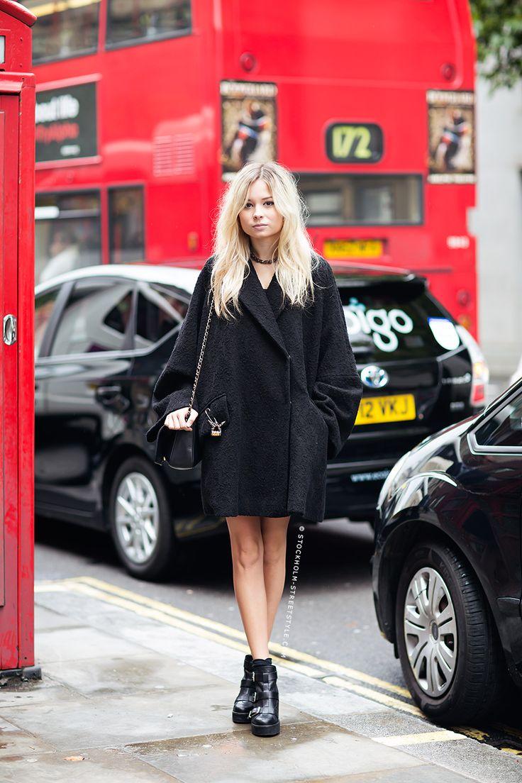 #StreetStyle good coat. London.