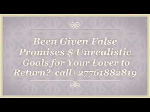 #Lost Love Spellcaster  +27761882819 IN 24hrs or less - YouTube