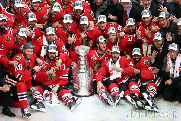 Chicago Blackhawks voitti Stanley Cupin! - 16.06.2015 - Chicago - Tampa Bay - NHL - Otteluraportti - Jatkoaika.com - Kaikki jääkiekosta