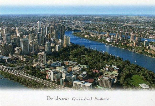 Австралия. Квинсленд. Брисбен (О759)