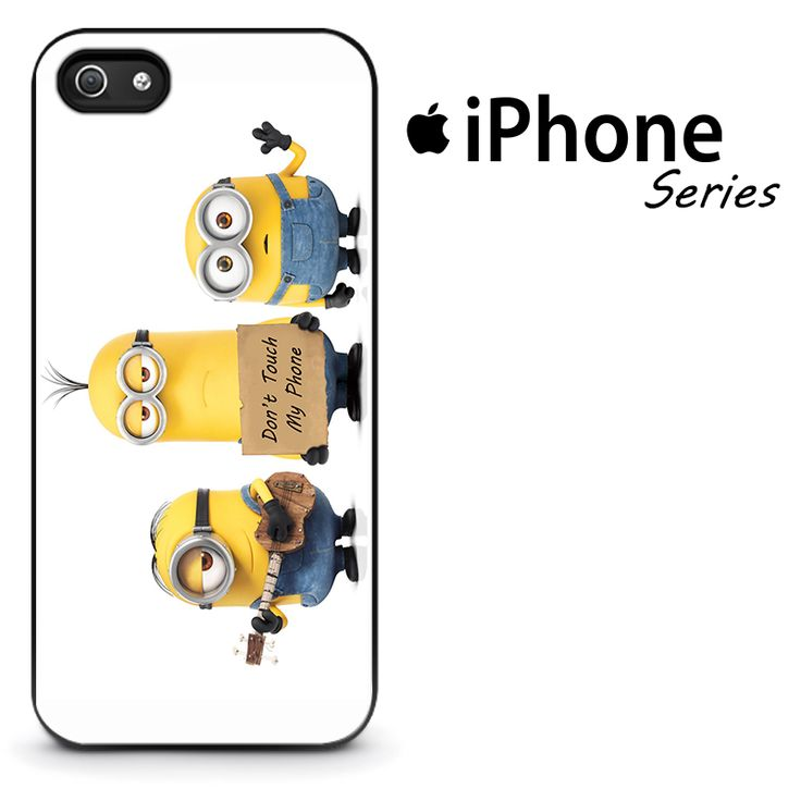Minion Don't Touch My Phone Phone Case | Apple iPhone 4/4s 5/5s 5c 6 6 Plus Samsung Galaxy S3 S4 S5 S6 S6 Edge Samsung Galaxy Note 3 4 5 Hard Case  #AppleiPhoneCase #SamsungGalaxyCase #SamsungGalaxyNoteCase #Yuicase.com