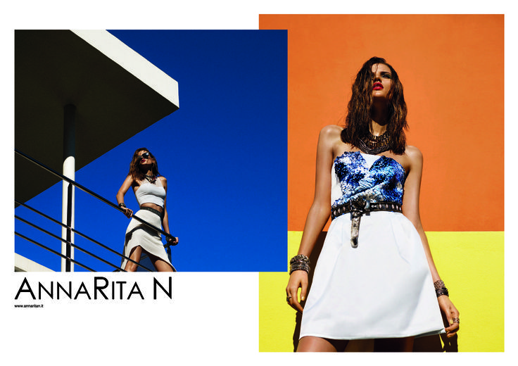 ANNNARITAN - campagna pubblicitaria SS14