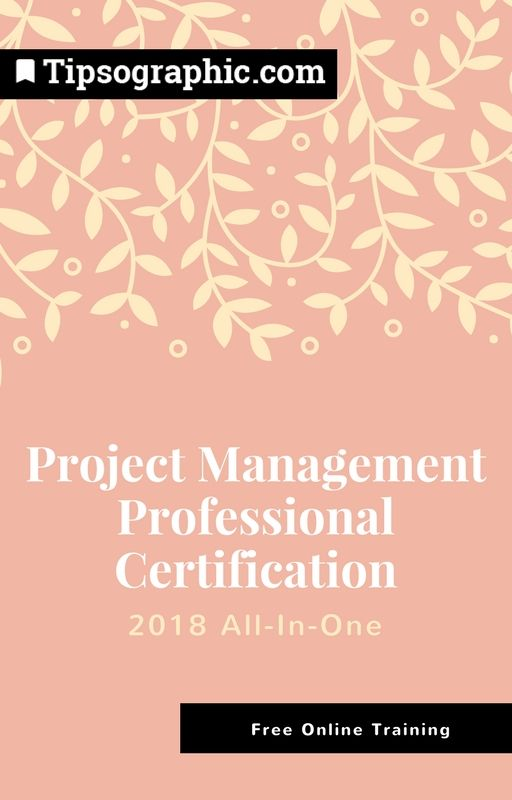 Project Management Professional Certification 2018 All-In-One  — Free Online Training (Based on #pmbok6) →   Read more on Tipsographic.com  #projectmanagement #techtips #agile #devops #scrum #kanban #pmp #millennials #pmexam #freeguide #freecourse #onlinecourse #pmp2018 #pmbok #pmbok2018 #pmpexam2018 #pmpcertification2018 #onlinecourse #onlinetraining
