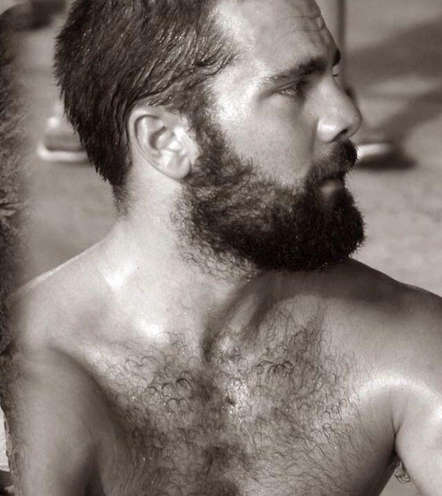 Борода, волосатая грудь