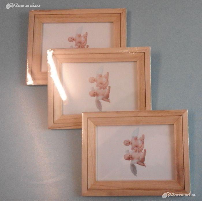 Cornici in legno porta fotografie
