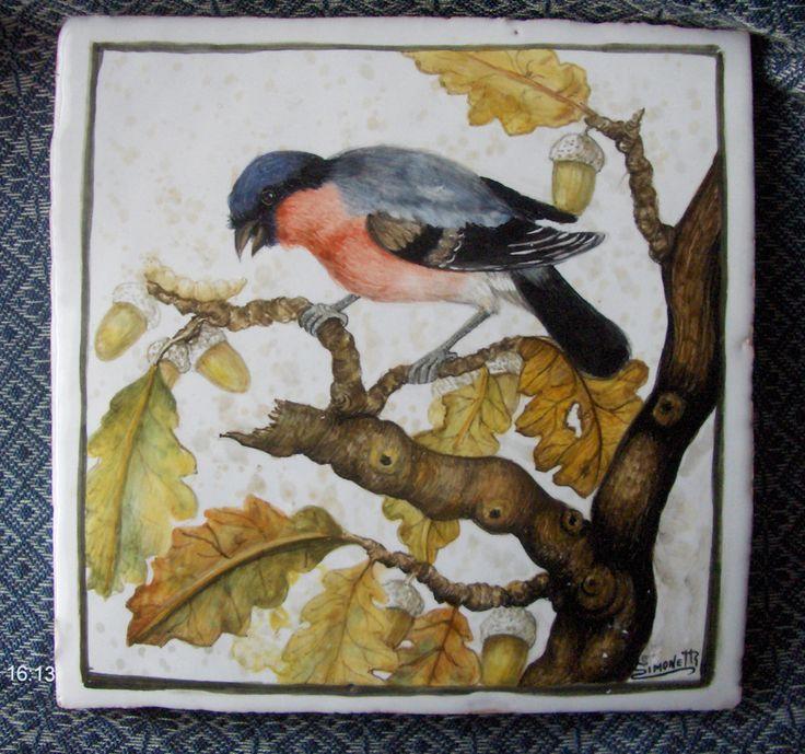 Natura morta con uccellino