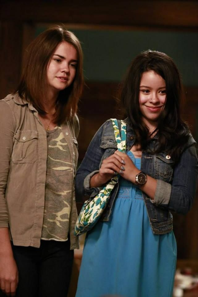 We're glad to see Mariana and Callie getting along! Tune in to the all-new episodes of The Fosters Mondays at 9/8c on ABC Family!