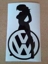 vw stripper sticker   VW fille sexy babe autocollant Voiture Graphique Vinyle Logo stickers ...