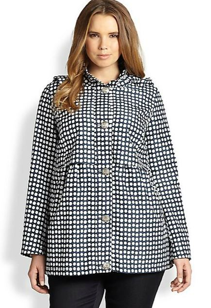7 Chic Plus Size Raincoats for Those Spring Showers