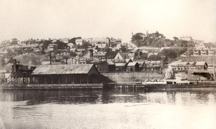 Harbour foreshore, Newcastle, NSW, Australia [c.1920's]   Flickr