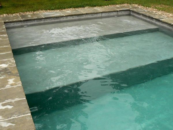 11 best Plage et escaliers de piscine images on Pinterest Swimming - construire sa piscine beton