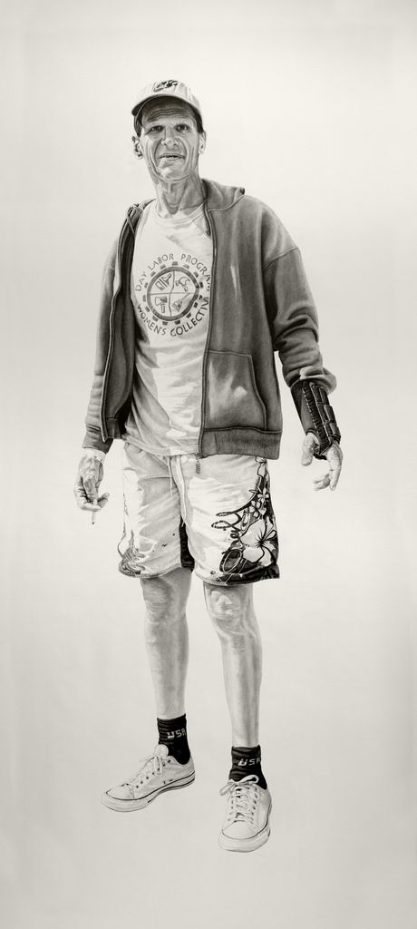 Joel Daniel Phillips' Provoking Life-Size Portraits | AP Drawing students this is very attainable