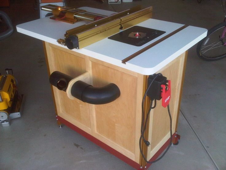 incra router table top