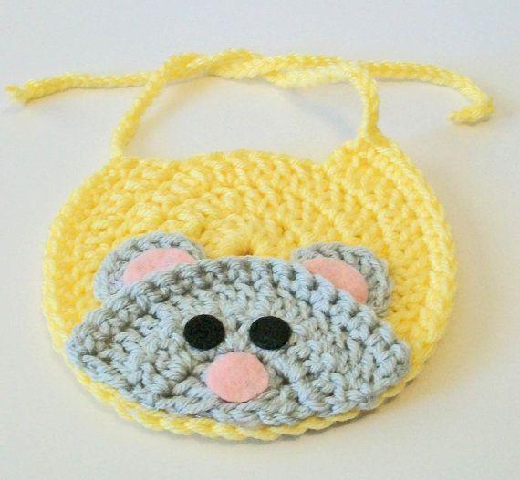 Popular Crochet Baby Bib-Buy Cheap Crochet Baby Bib lots from ...