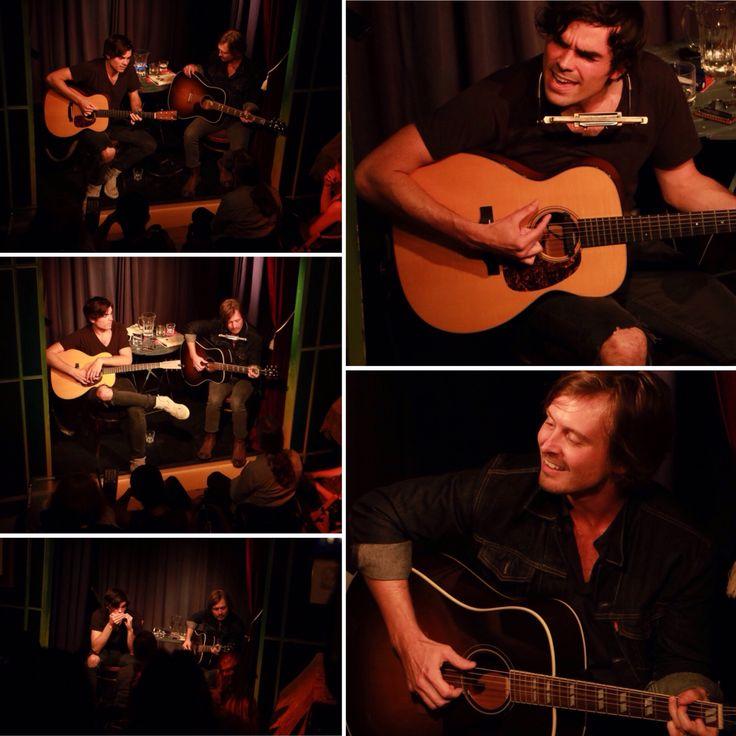 Jake Etheridge and Matthew Crosby live at Torpedo Theater, Amsterdam (30-08-2016)
