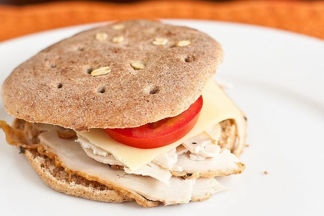Homemade Sandwich Thins by foodiebride---  this is THE recipe for sandwich thins, they are absolutely wonderful.  I just made some today and added flax, sunflower & pumpkin seeds.  They are super!  I just throw it all in the bread machine on dough cycle & then form and bake. --HH