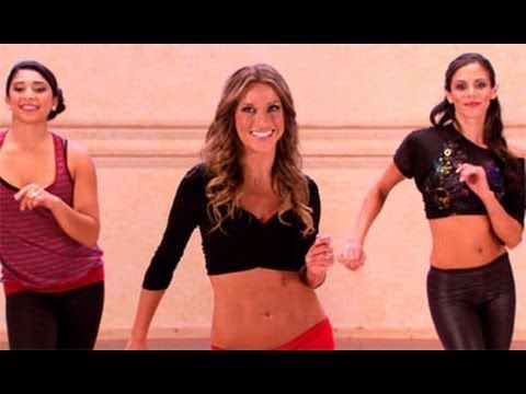 """Fat-Burning Mambo Dance Workout from """"Dancing With The Stars"""" is an explosive Cuban-based cardio dance routine that utilizes a combination of low-impact, hip-shimmying, Mambo and Salsa dance steps in order to jumpstart the metabolism, burn fat, and tone the entire body for effective waist-slimming results. Get ready to sweat on the dance floor a..."""