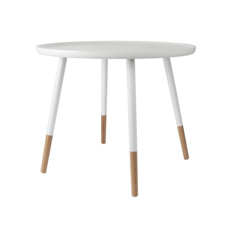 TABLE BASSE GRACEFUL BLANCHE/BOIS – LEITMOTIV