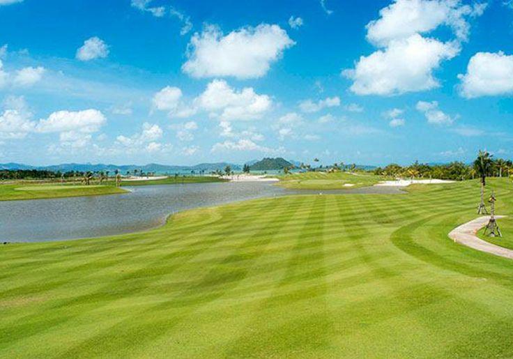 Phuket : Mission Hills Golf Club Course Layout