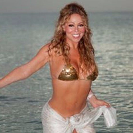 Mariah Carey Bikini Photo January 2016