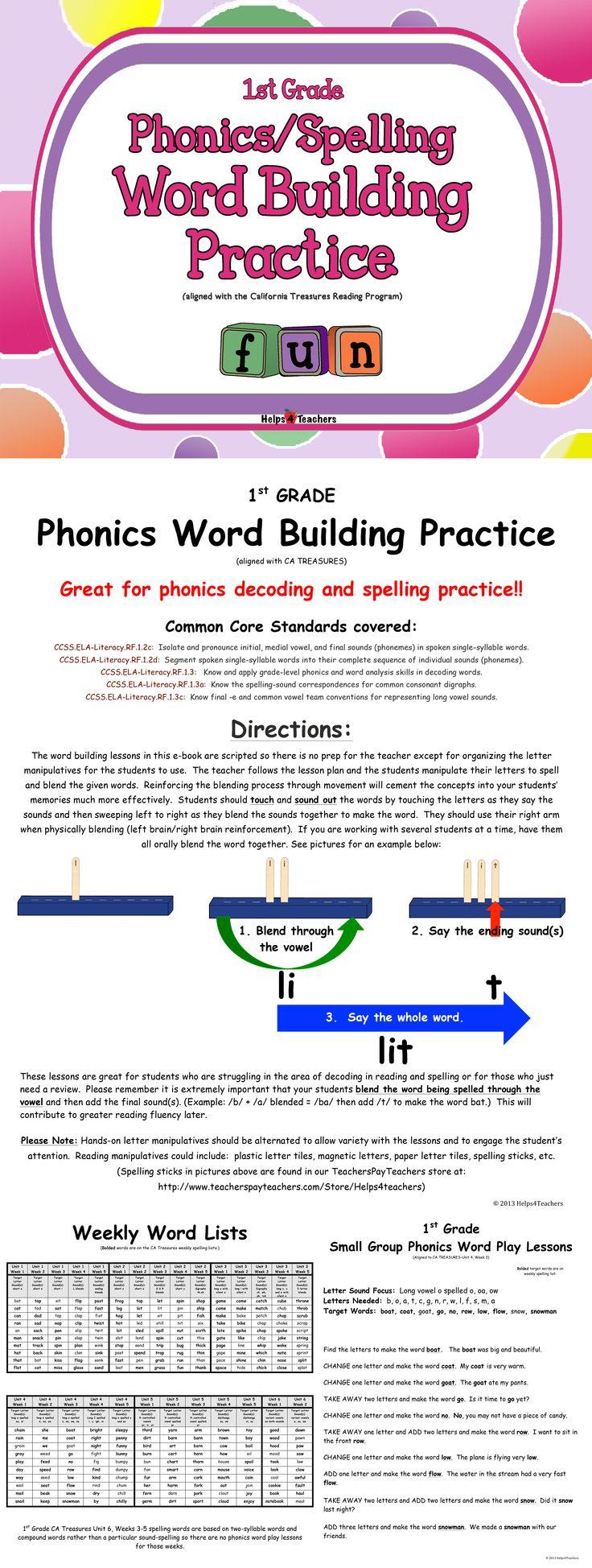 Workbooks long vowel digraphs worksheets : 149 best 2nd grade language arts images on Pinterest | Language ...