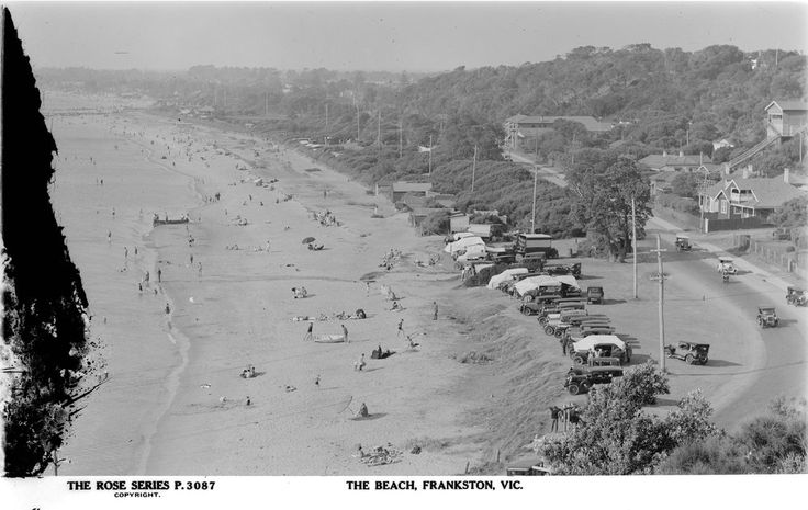THE BEACH, FRANKSTON, VIC