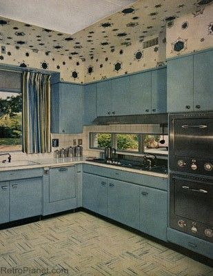 96 Best 1950s Art Moderne Kitchen Images On Pinterest