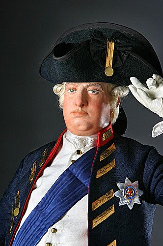 Portrait length color image of George III 1780 aka.