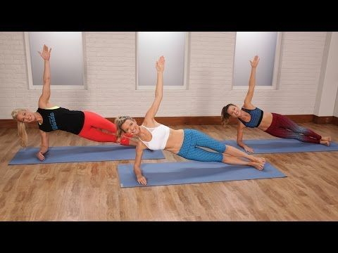 25-Minute Pilates Workout to Tone Your Abs, Butt, and Arms | Class FitSugar - YouTube