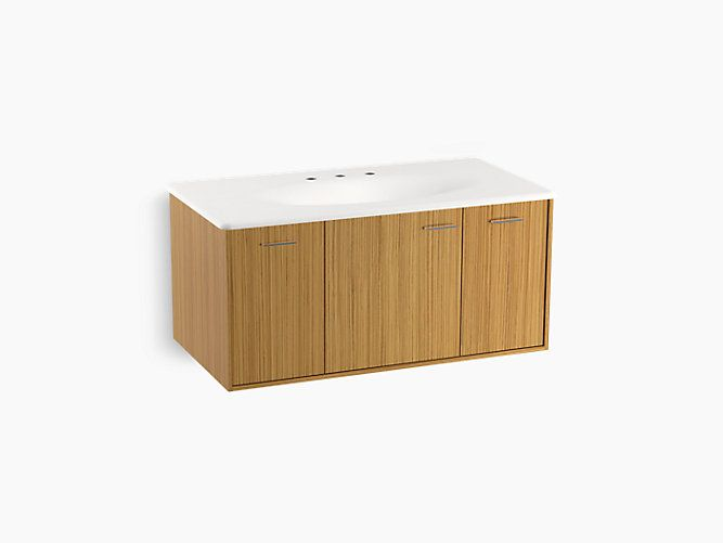 K-99561 | Jute 42-inch Vanity with 1 door and 2 drawers | KOHLER