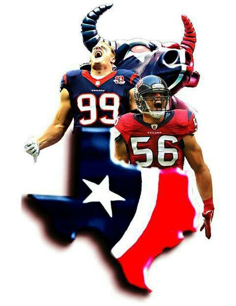 Die hard Texans fan