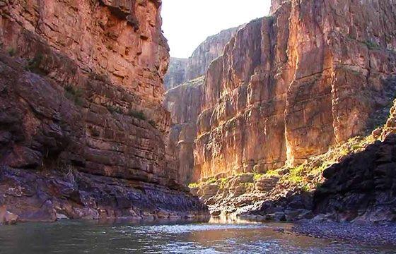 Cañón de Ojinaga en Chihuahua