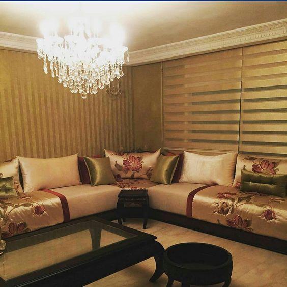 beau salon marocain - Nouveau Salon Marocain