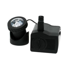 Pump led spot light and water on pinterest Lowes pond filter