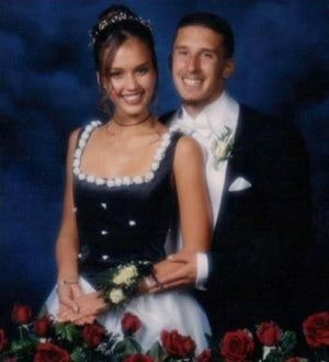 Jessica Alba is listed (or ranked) 3 on the list The 37 Greatest Celebrity Prom Photos