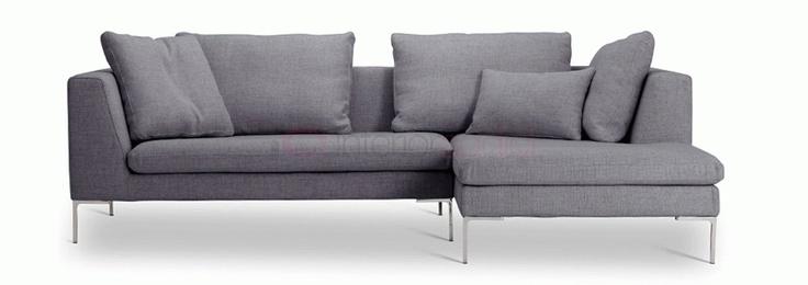 Antonio Citterio Charlie Fabric Modular Sofa - Designer Sofas from Interior Addict UK