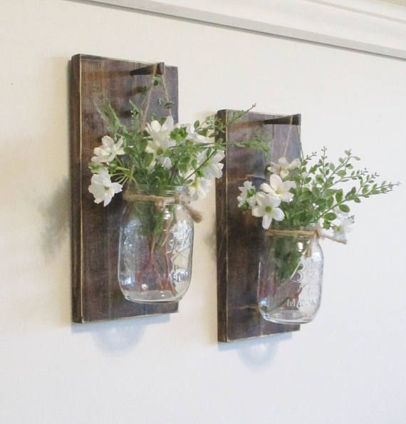 10 Light Diy Mason Jar Chandelier Rustic Cedar Rustic Wood: Best 10+ Mason Jar Sconce Ideas On Pinterest