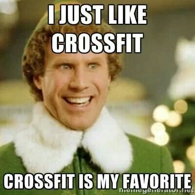 Image result for christmas crossfit memes
