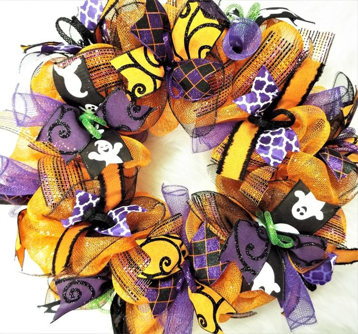 Happy halloween wreath in 2020 (With images) Halloween