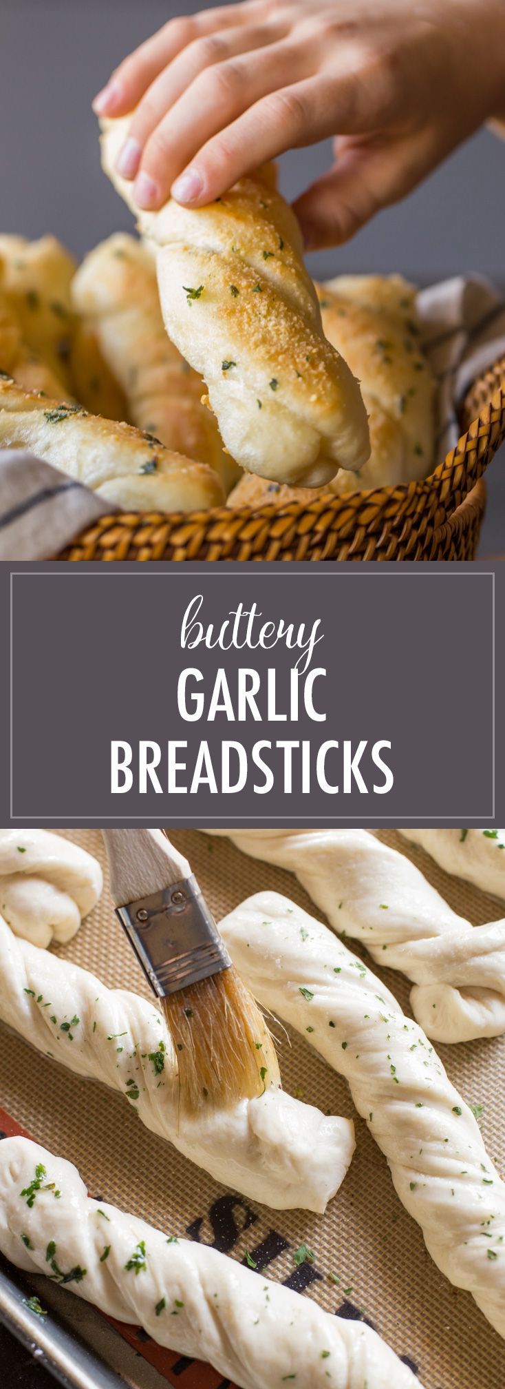 Fresh Buttery Garlic Breadsticks right out of the oven are hard to beat! I'll show you just how to make them step by step!