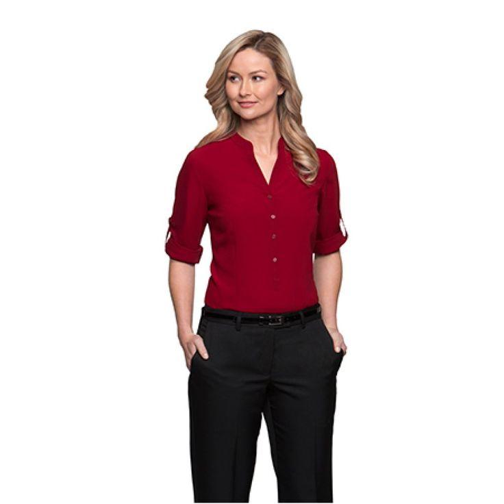 City Collection So Ezy 3/4 Sleeve Shirt – 2263
