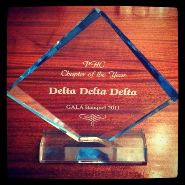 Theta Theta was also honored as Nevada's Chapter of the Year!