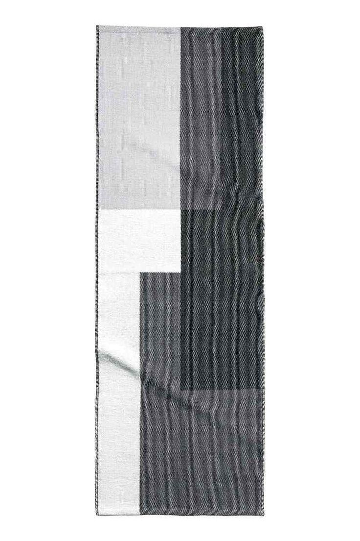 Žakárový kobereček z bavlny Cotone tessuto, Tappeti e