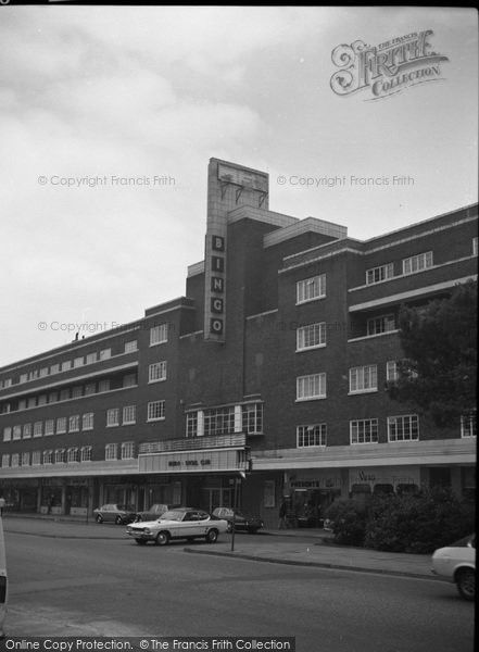 Bournemouth, The Odeon Cinema, Lansdowne c.1975, from Francis Frith