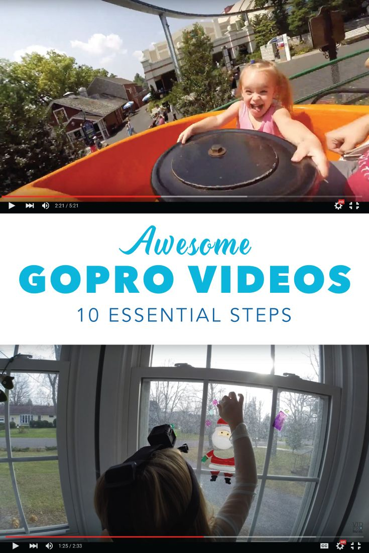 SAVE FOR SUMMER: 10 Essential Steps to Awesome GoPro Videos & Family Movies