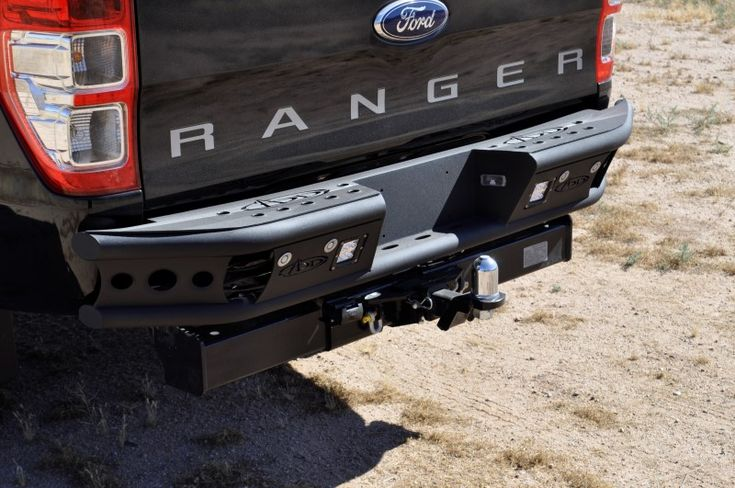 Shop Ford Ranger T6 Dimple R Rear Bumpers at ADD Offroad