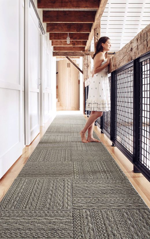 More FLOR carpet tiles that I love from the very sustainable Interface Carpet.