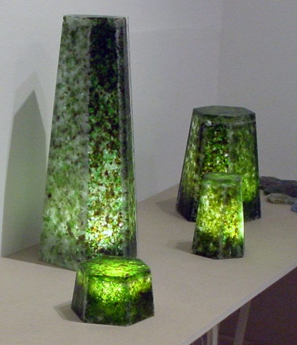 Simpson Hernandez, Glass collection