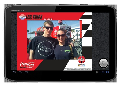 Coca-Cola is also using the SMART Activator during their 2012 NASCAR campaign.