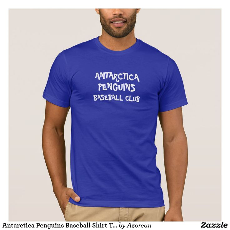 Antarctica Penguins Baseball Shirt T-Shirt